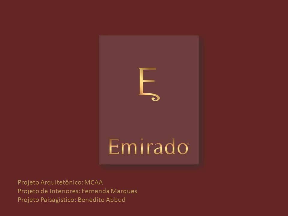 Projeto Arquitetônico: MCAA Projeto de Interiores: Fernanda Marques Projeto Paisagístico: Benedito Abbud