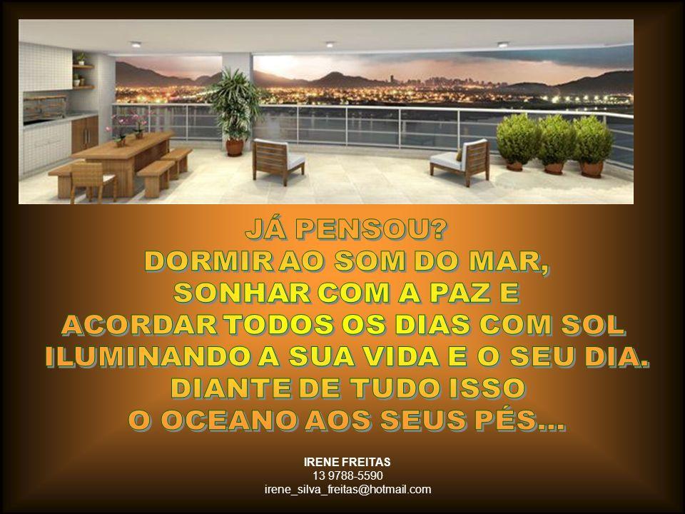 Meu nome é Irene Freitas - Consultora da REAL Consultoria Imobiliária e quero lhe convidar a conhecer esta oportunidade de empreendimento com apartamento decorado e maquete.