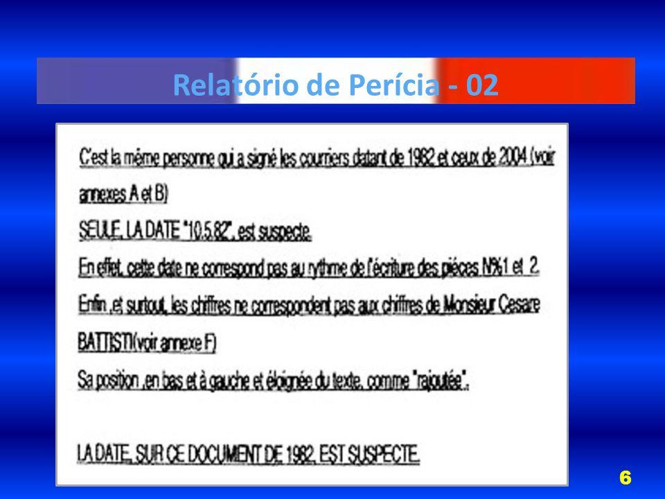 Relatório de Perícia - 02 6