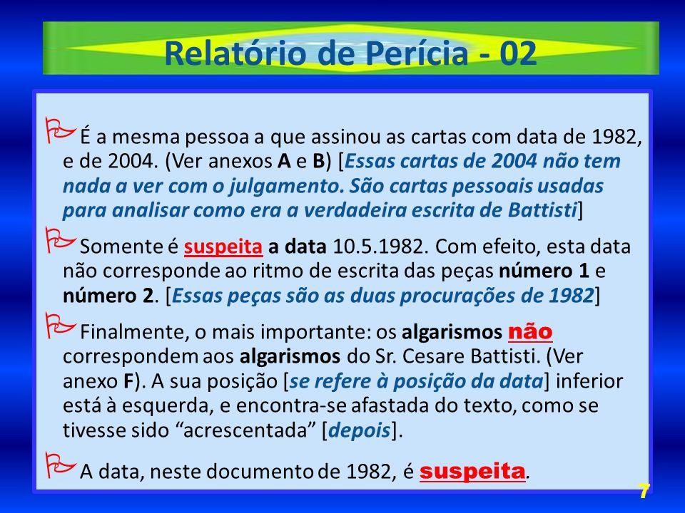 Relatório de Perícia - 03 8