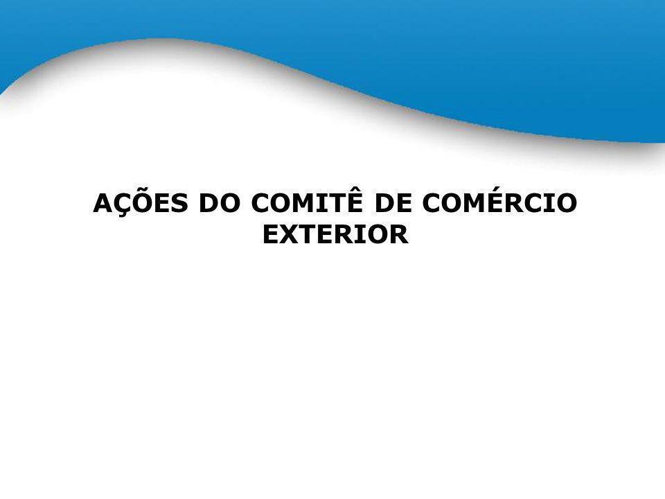 AÇÕES DO COMITÊ DE COMÉRCIO EXTERIOR