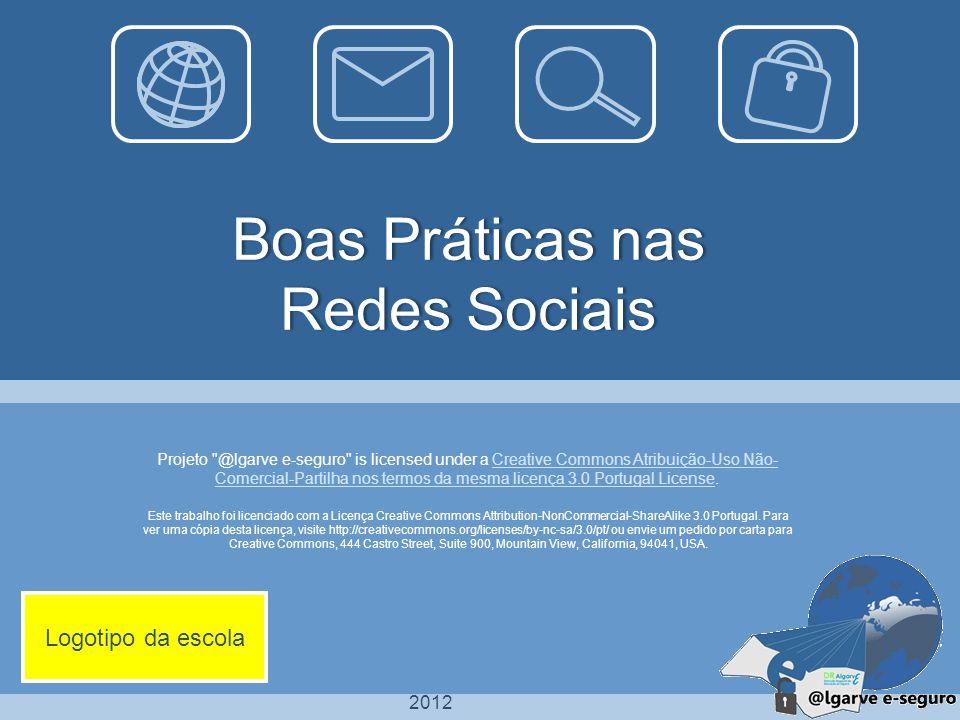 2012 Este trabalho foi licenciado com a Licença Creative Commons Attribution-NonCommercial-ShareAlike 3.0 Portugal. Para ver uma cópia desta licença,