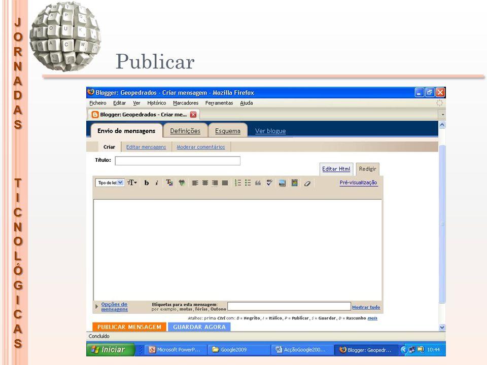 JORNADASTICNOLÓGICAS Publicar