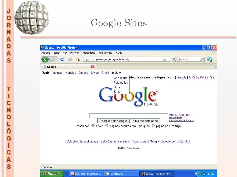 JORNADASTICNOLÓGICAS Google Sites