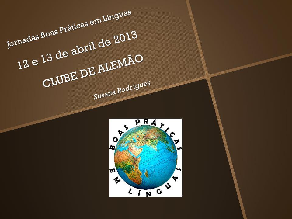 CLUBE DE ALEMÃO - Motivação para uma aprendizagem livre e flexível de uma língua estrangeira