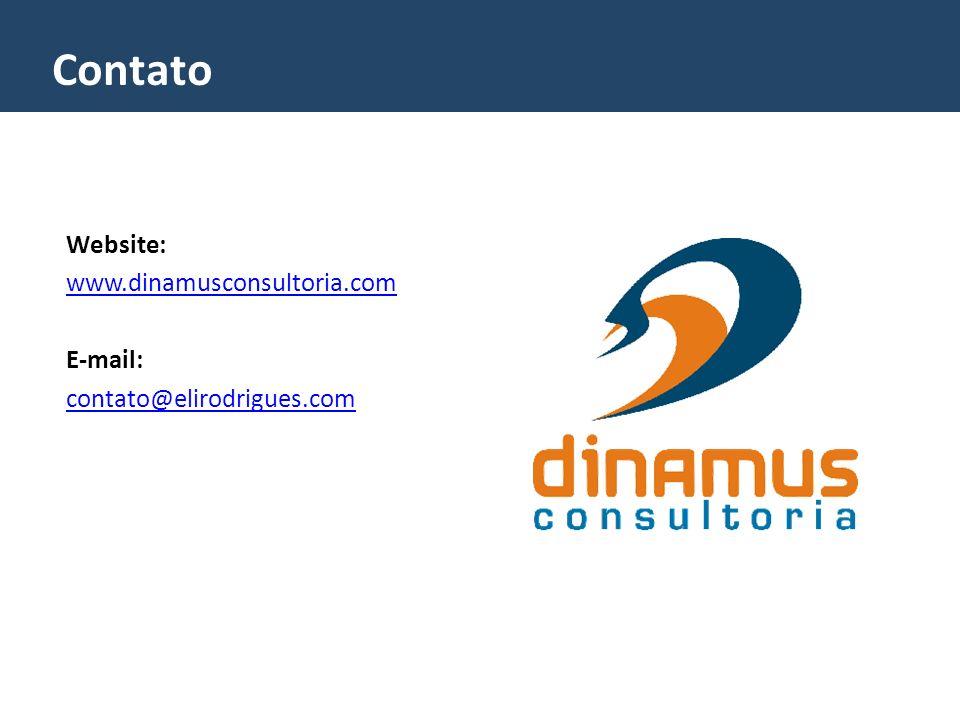 Contato Website: www.dinamusconsultoria.com E-mail: contato@elirodrigues.com