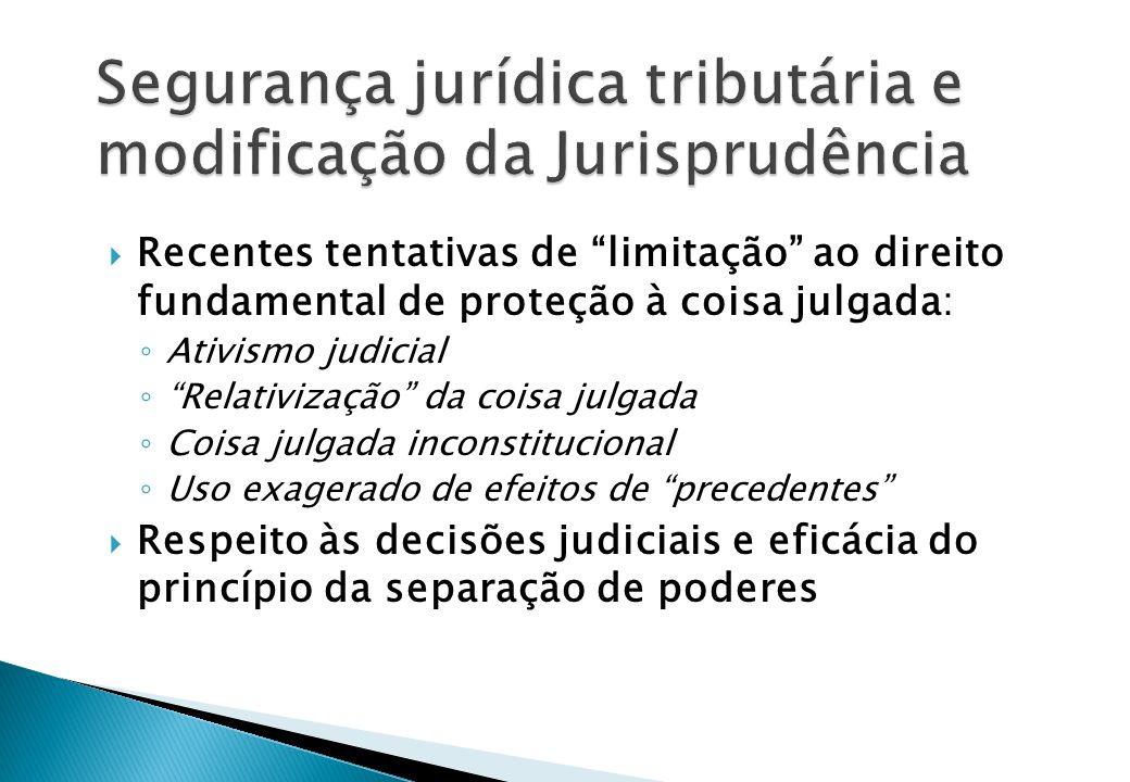 Jurisprudência e segurança jurídica por orientação – critérios de mutação exigem coerência com a CF Precedentes (persuasive precedent), predominância, consolidação (linha de precedentes), uniformização (súmulas) e stare decisis (súmulas vinculantes e repercussão geral – biding precedent) Modificação ou divergência da Jurisprudência: 1.