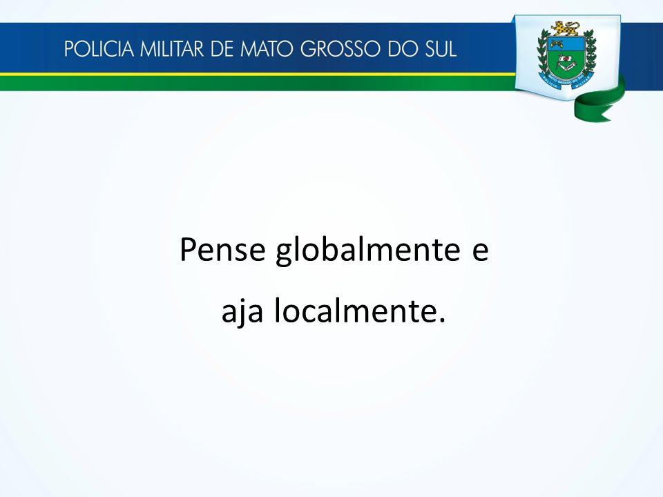 Pense globalmente e aja localmente.
