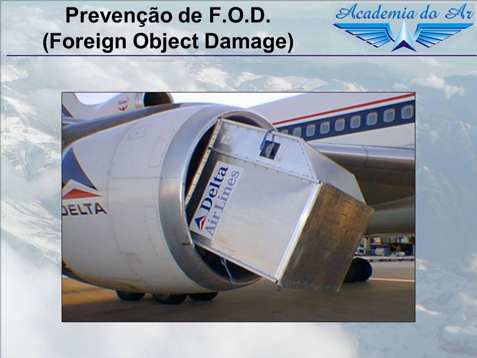 Prevenção de F.O.D. (Foreign Object Damage)