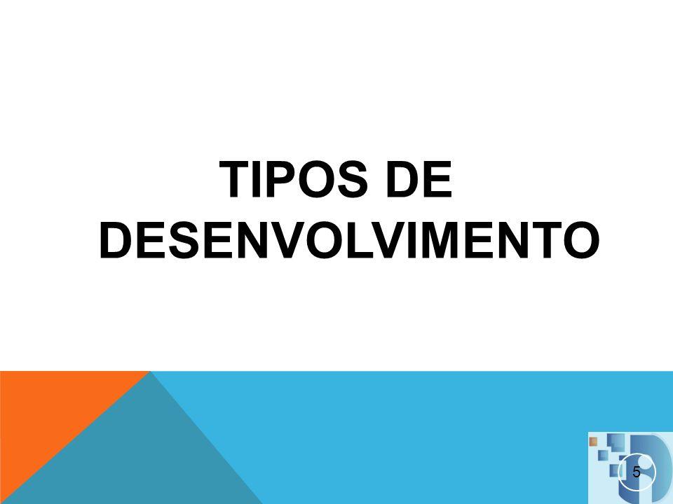 TIPOS DE DESENVOLVIMENTO 5