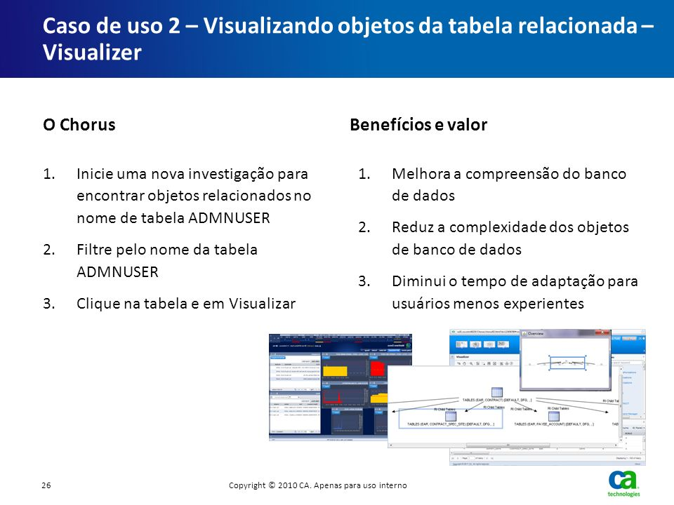 Caso de uso 2 – Visualizando objetos da tabela relacionada – Visualizer 1.Inicie uma nova investigação para encontrar objetos relacionados no nome de
