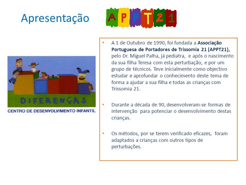 A 1 de Outubro de 1990, foi fundada a Associação Portuguesa de Portadores de Trissomia 21 (APPT21), pelo Dr.