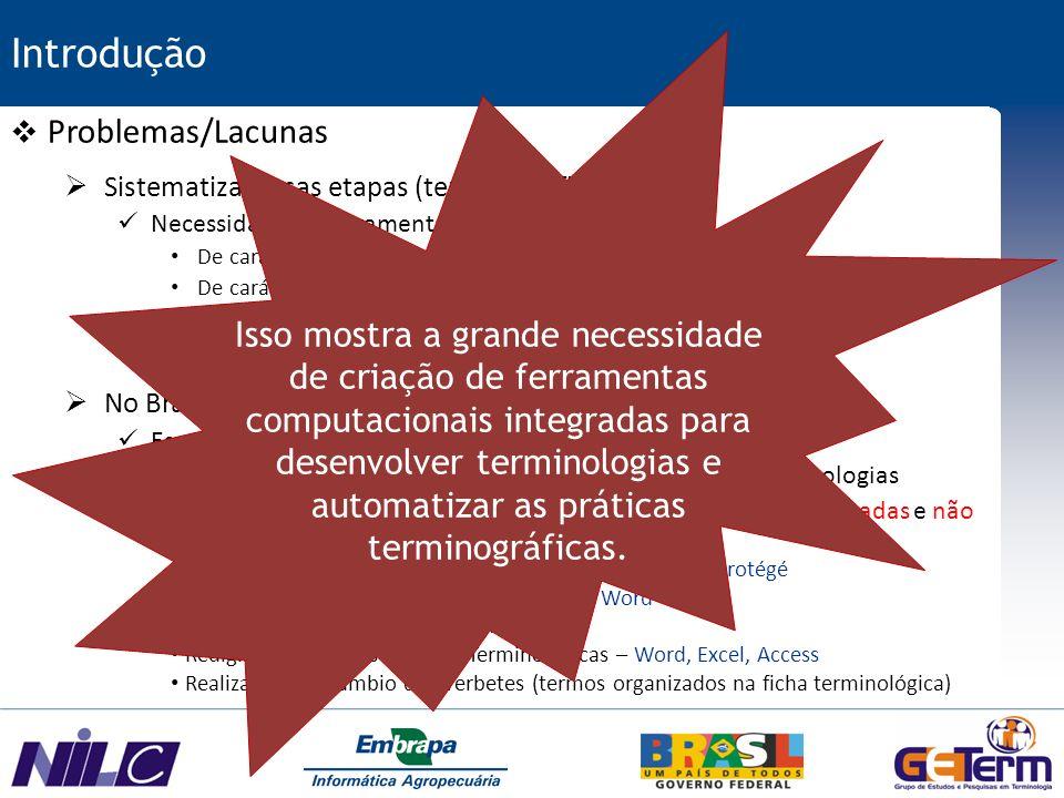Exemplo Sexta Etapa – Edição de Verbetes e Int.