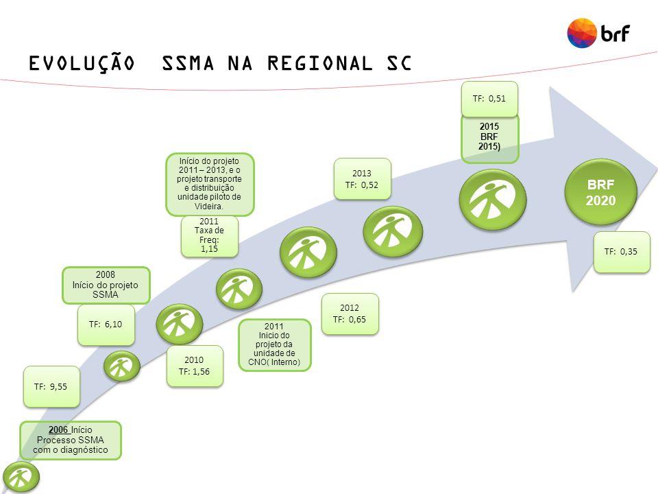 SISTEMA DE GOVERNANÇA PROJETO SSMA REGIONAL SC Comitê SSMA Regional SC Comitê Operacional Proj.