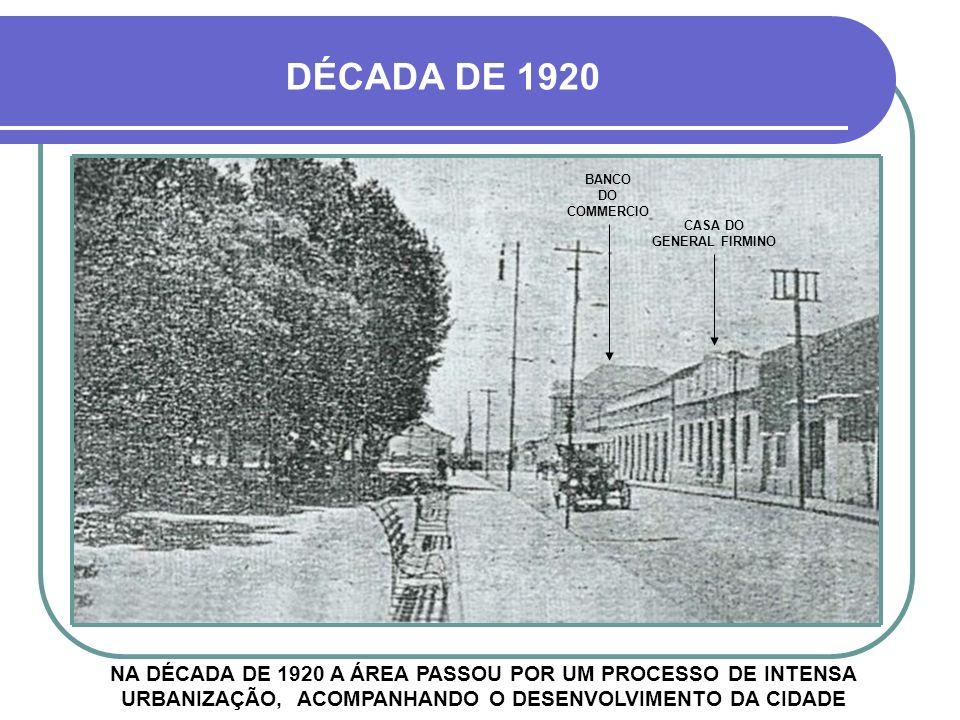 HOJE EDIFÍCIO TIBICUERA MAS AINDA ANTES DISSO, EM 1912, A ÁREA JÁ HAVIA SIDO BATIZADA DE PRAÇA GENERAL FIRMINO