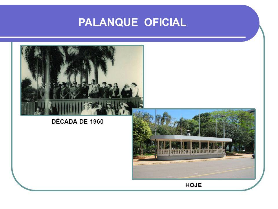 PALANQUE OFICIAL DÉCADA DE 1970