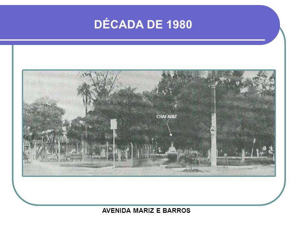 PRAÇA GENERAL FIRMINO DÉCADA DE 1970 HOJE
