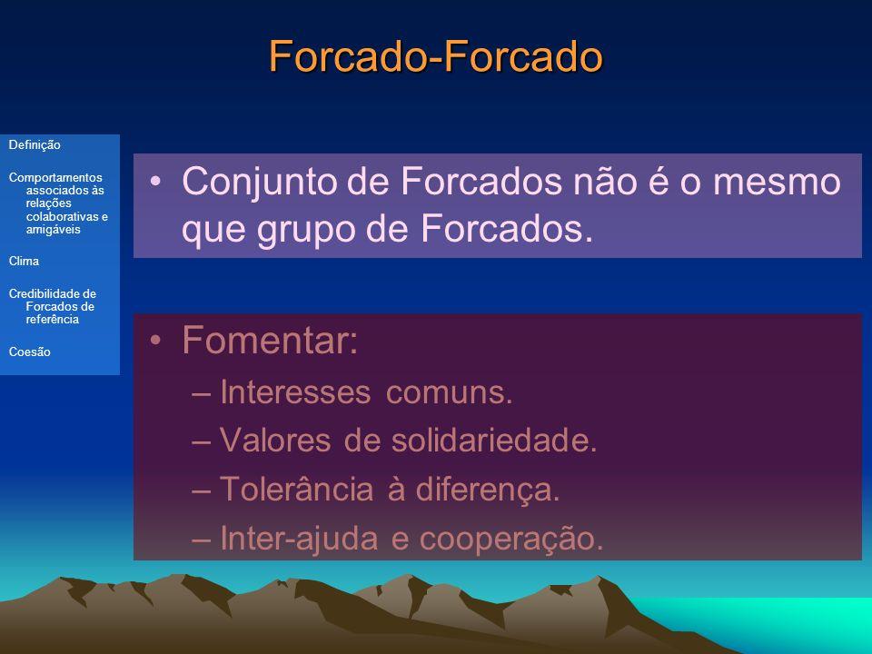 Forcado-Forcado Conjunto de Forcados não é o mesmo que grupo de Forcados.