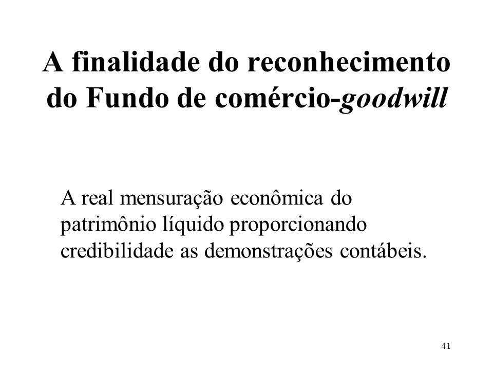40 O Fundo de comércio-goodwill em contrato de locação de imóvel não- residencial e atividades de representação comercial O principal agente é a carte