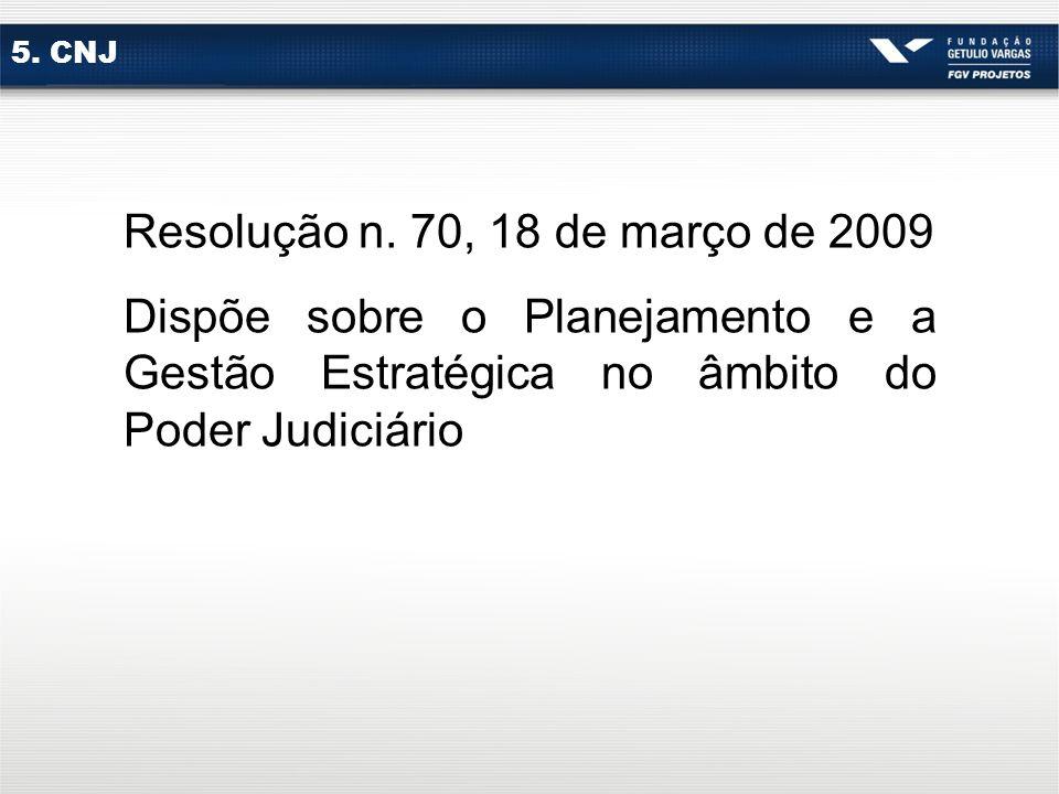 5.CNJ Resolução n.