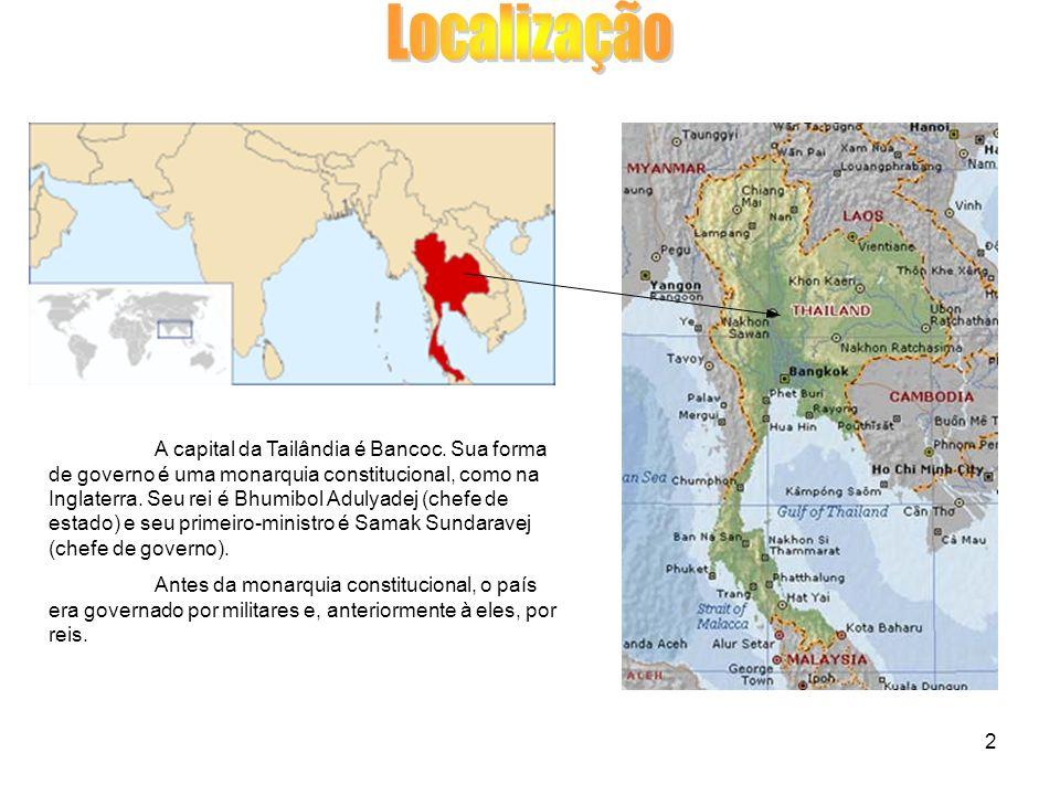 2 A capital da Tailândia é Bancoc.