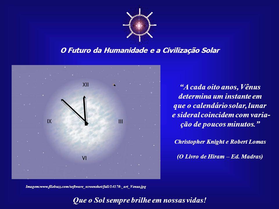 O Futuro da Humanidade e a Civilização Solar Que o Sol sempre brilhe em nossas vidas! Há quem diga que a nossa civilização é resultado daquilo que a H