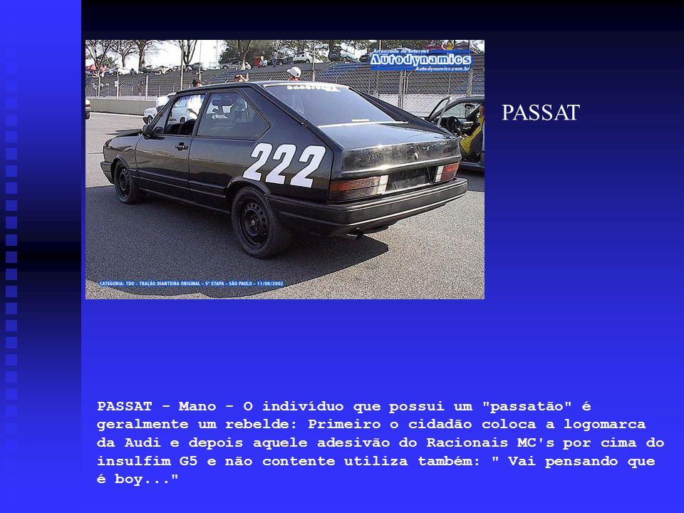 PASSAT - Mano - O indivíduo que possui um