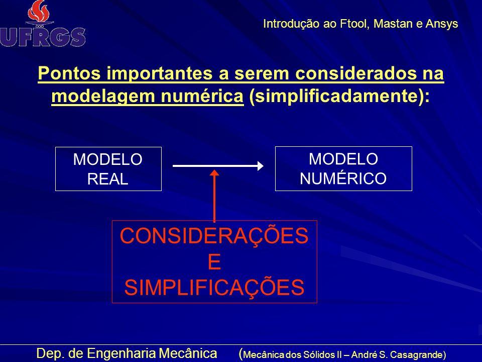 Dep.de Engenharia Mecânica ( Mecânica dos Sólidos II – André S.