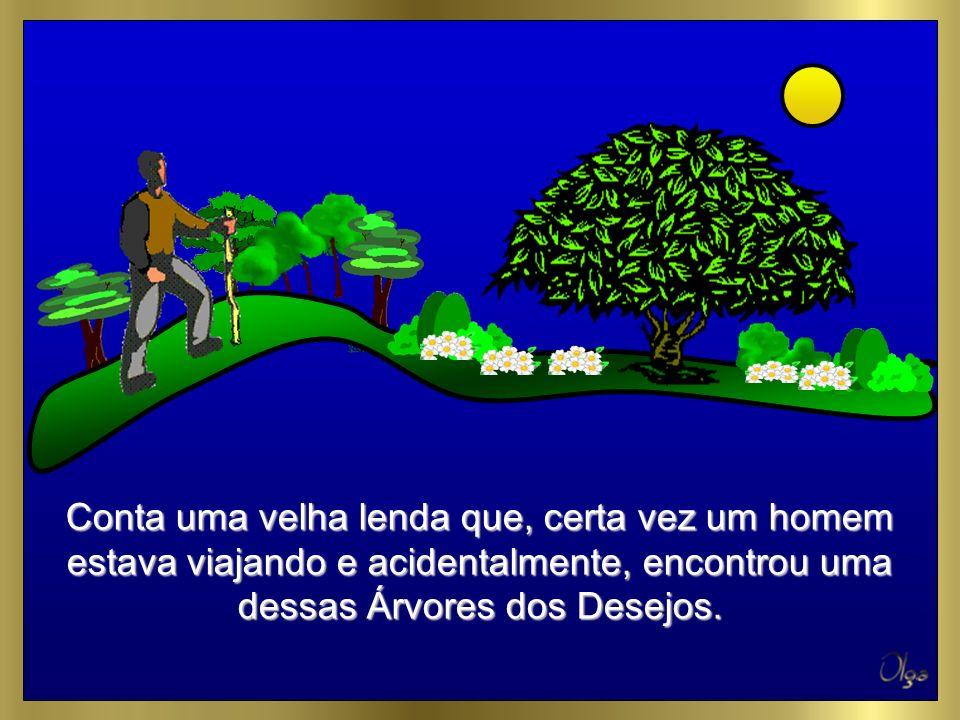 No conceito Védico indiano, o Paraíso é composto por Árvores dos Desejos.