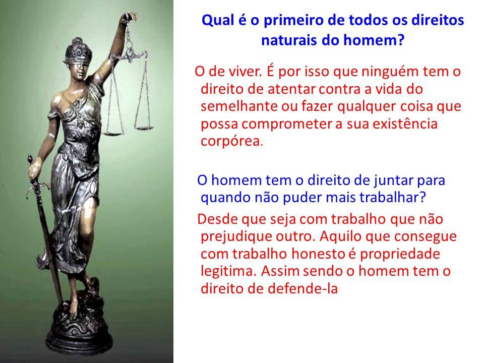 A justiça consiste no respeito aos direitos de cada um.