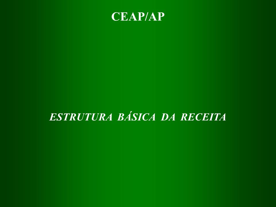 CEAP/AP ALGUNS IMPOSTOS DE COMPETÊNCIA DOS MUNICÍPIOS 1.