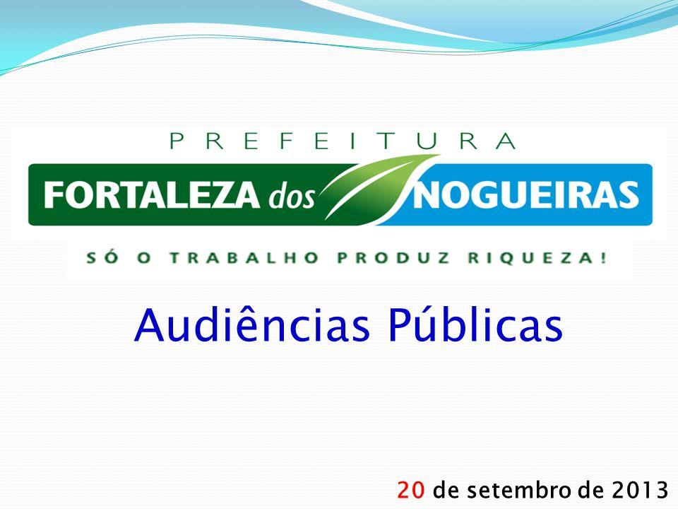 Audiências Públicas 20 de setembro de 2013