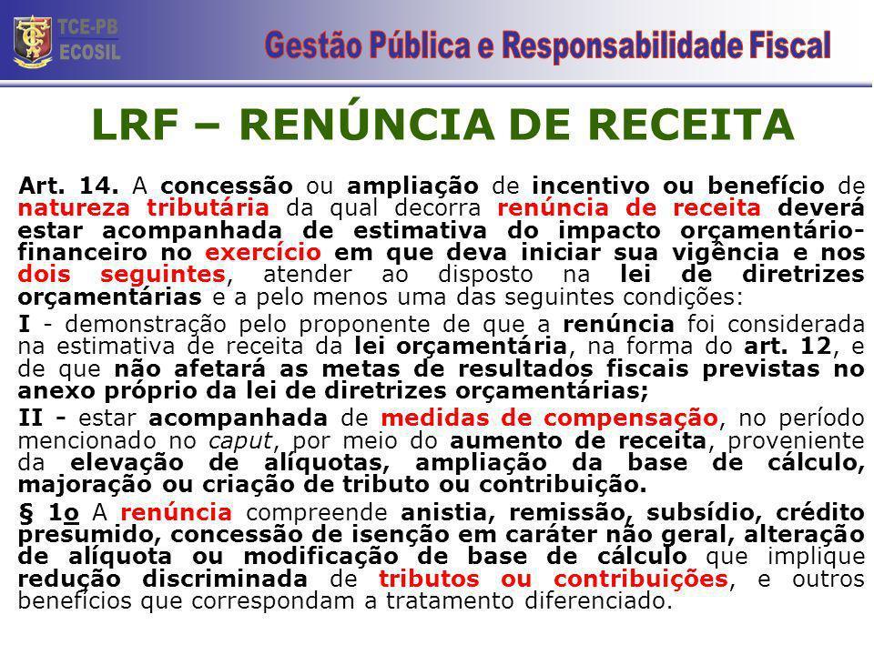 CONTROLE DA GESTÃO PÚBLICA RECEITA CORRENTE LÍQUIDA - RCL ESTADO (+) Receita Tributária (+) Receita de Contribuição (+) Receita Patrimonial (+) Receita Industrial (+) Receita Agropecuária (+) Receita de Serviços (+) Transferências Correntes (+) Outras Receitas Correntes (+) Valor RECEBIDO do FUNDEB (-) Valor PAGO ao FUNDEB (-) Contribuição dos servidores ao regime próprio de previdência (-) Receita da compensação financeira entre os regimes de previdência (-) Transferências Constitucionais a Municípios MUNICÍPIO (+) Receita Tributária (+) Receita de Contribuição (+) Receita Patrimonial (+) Receita Industrial (+) Receita Agropecuária (+) Receita de Serviços (+) Transferências Correntes (+) Outras Receitas Correntes (+) Valor RECEBIDO do FUNDEB (-) Valor PAGO ao FUNDEB (-) Contribuição dos servidores ao regime próprio de previdência (-) Receita da compensação financeira entre os regimes de previdência