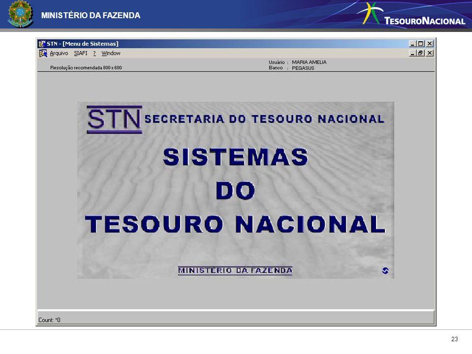 MINISTÉRIO DA FAZENDA 23