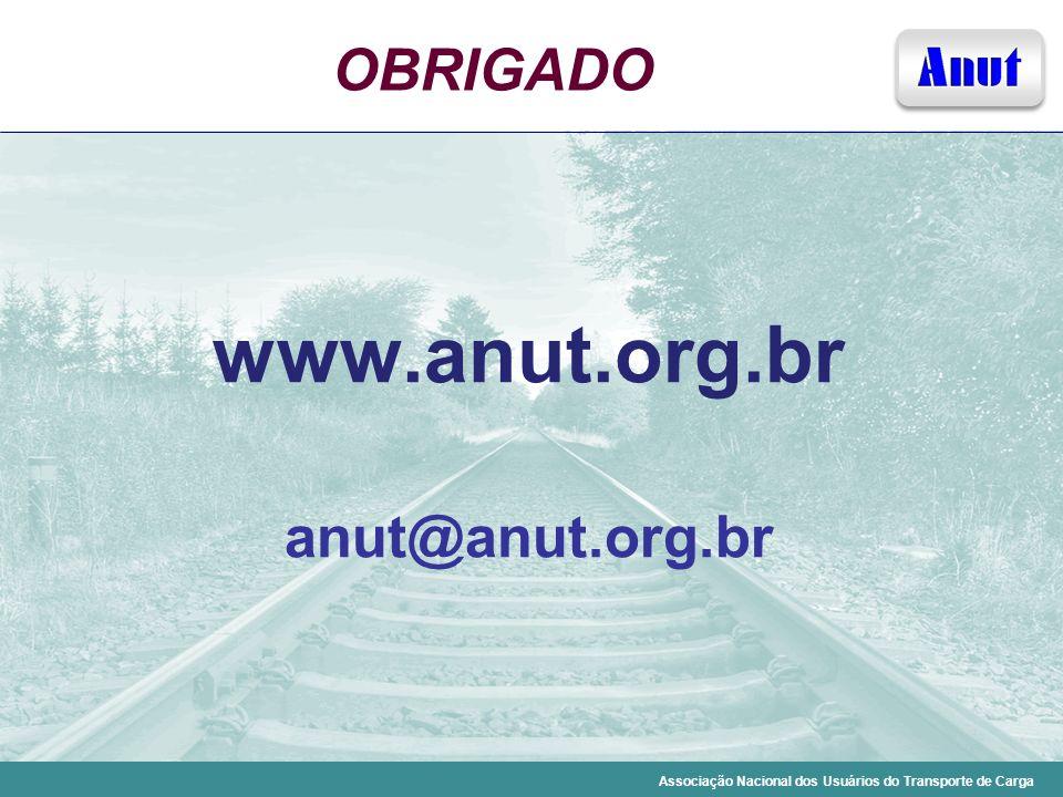 Associação Nacional dos Usuários do Transporte de Carga OBRIGADO www.anut.org.br anut@anut.org.br
