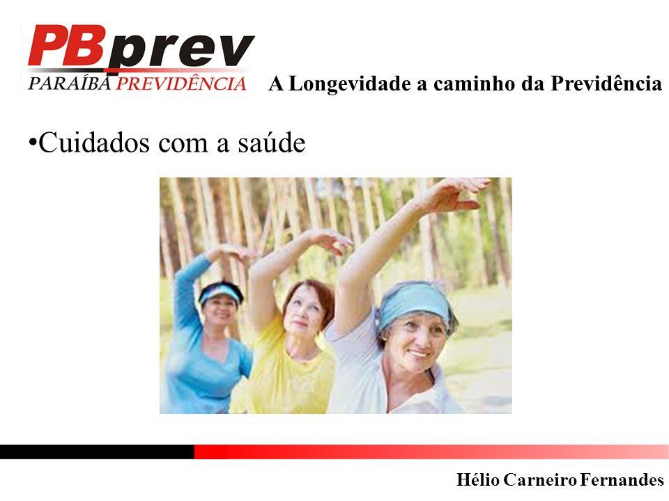 A Longevidade a caminho da Previdência Cuidados com a saúde Hélio Carneiro Fernandes
