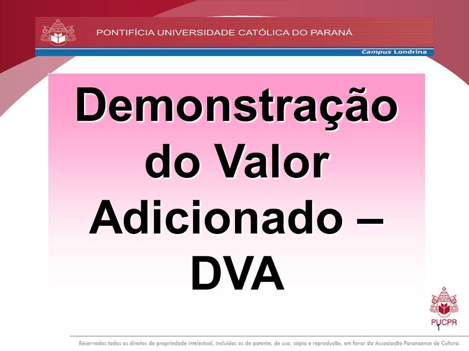 1 Demonstração do Valor Adicionado – DVA