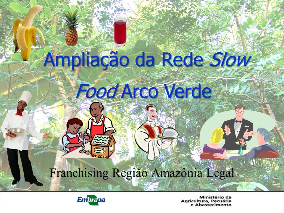 Ampliação da Rede Slow Food Arco Verde Ampliação da Rede Slow Food Arco Verde Franchising Região Amazônia Legal