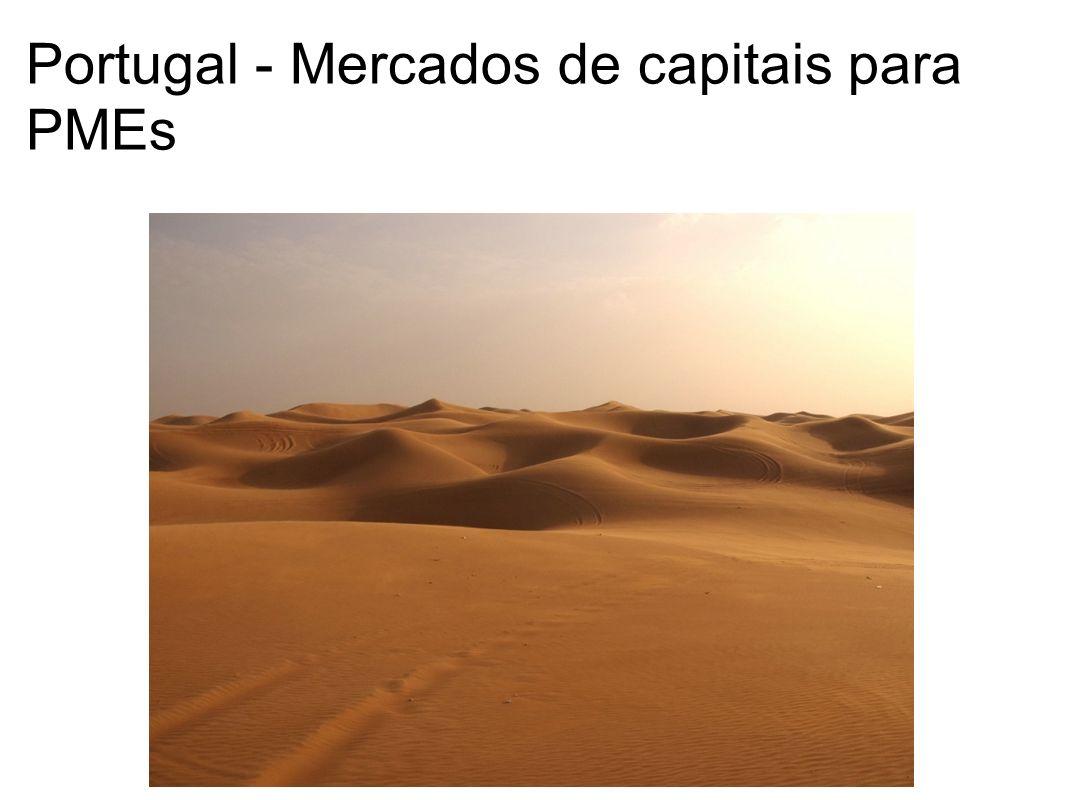 Portugal - Mercados de capitais para PMEs