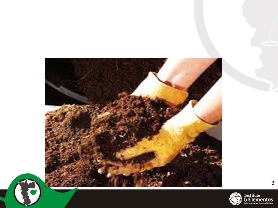 4 A agricultura nos dias de hoje Monocultura Calagem excessiva Altas doses de adubos químicos ( NPK) Solo limpo e compactado ( uso de herbicias) Pequeno aporte de matéria orgânica