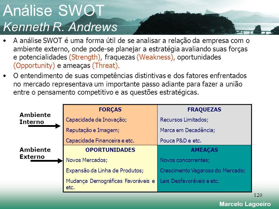 Marcelo Lagoeiro 120 Análise SWOT Kenneth R.