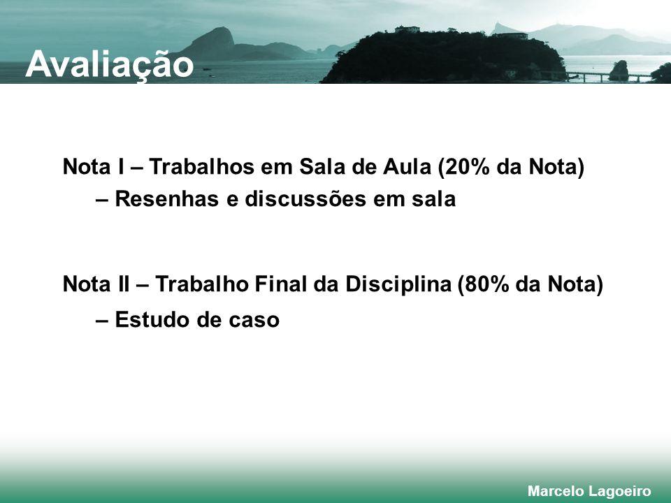 Marcelo Lagoeiro Financeira Processos internos Aprendizado e crescimento Visão e estratégia Cliente/ Mercado Aprendizado/Crescimento Para alcançar nossa visão, como sustentaremos nossa capacidade de mudar e melhorar .