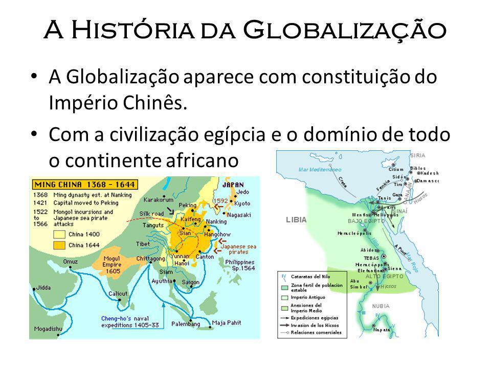 A História da Globalização Na Grécia viam a globalização na economia e criaram o direito.