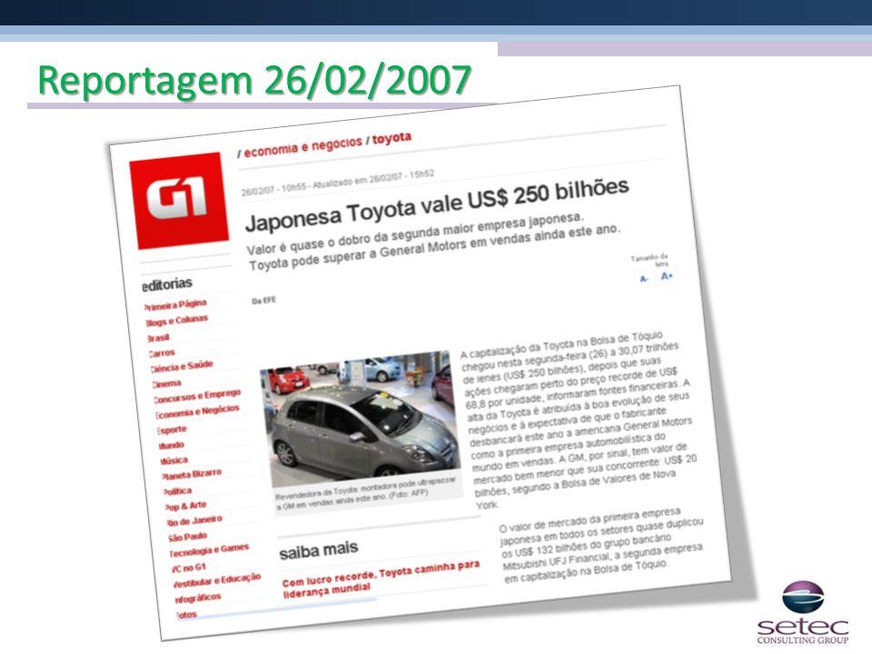 Reportagem 26/02/2007