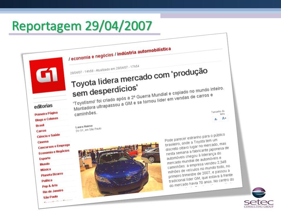 Reportagem 29/04/2007