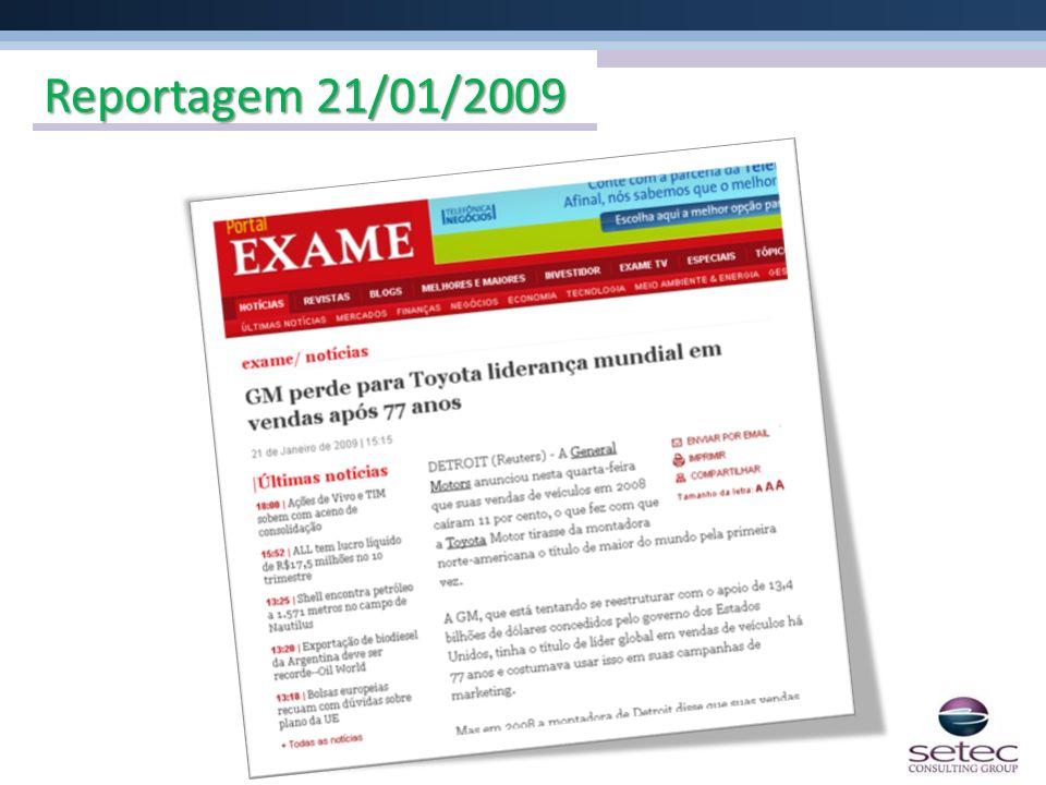 Reportagem 21/01/2009