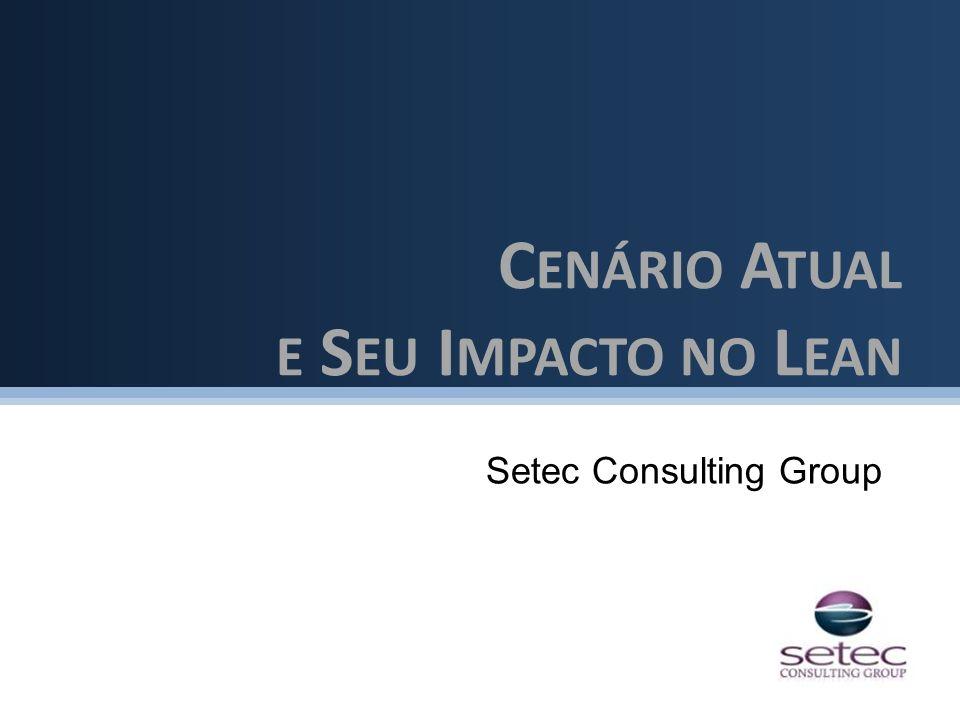 Setec Consulting Group C ENÁRIO A TUAL E S EU I MPACTO NO L EAN
