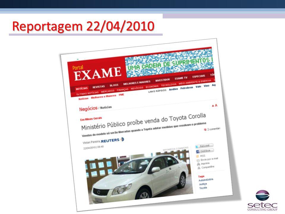 Reportagem 22/04/2010