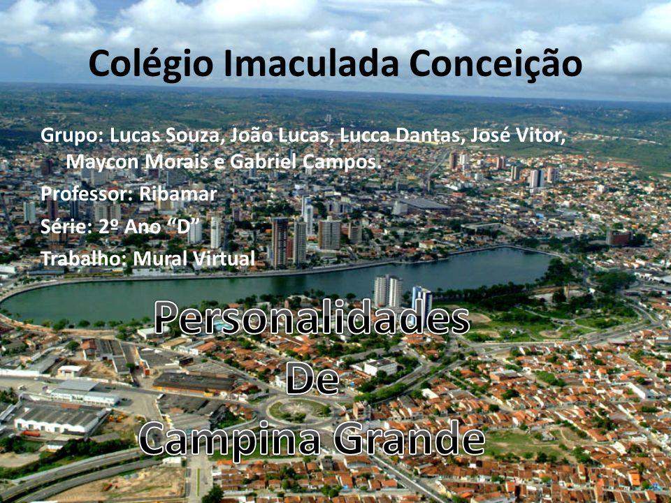 Colégio Imaculada Conceição Grupo: Lucas Souza, João Lucas, Lucca Dantas, José Vitor, Maycon Morais e Gabriel Campos.