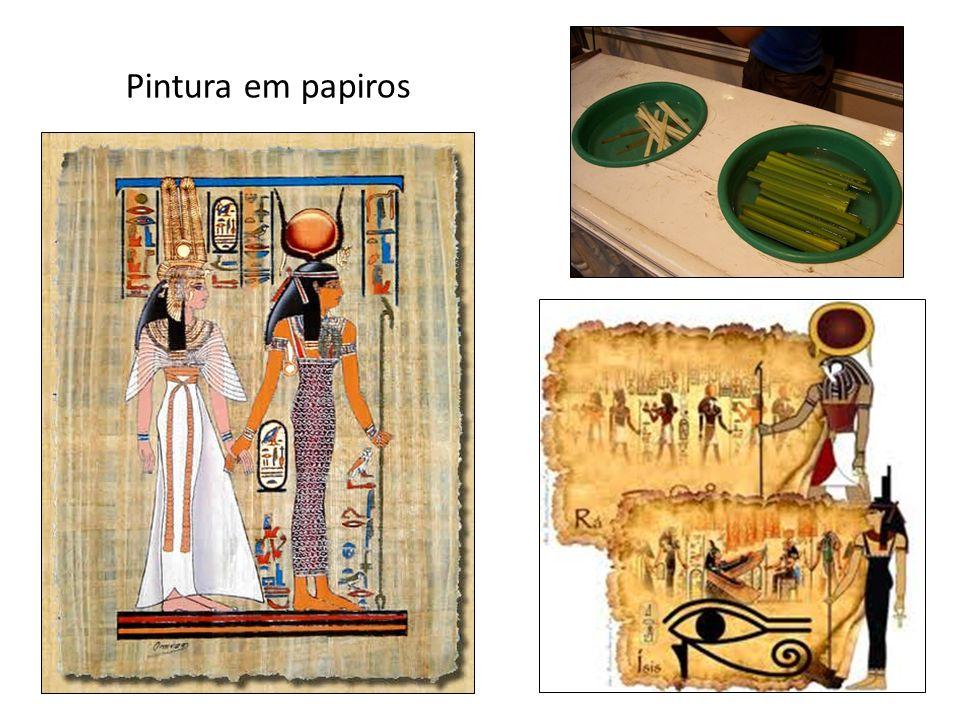 Pintura em papiros